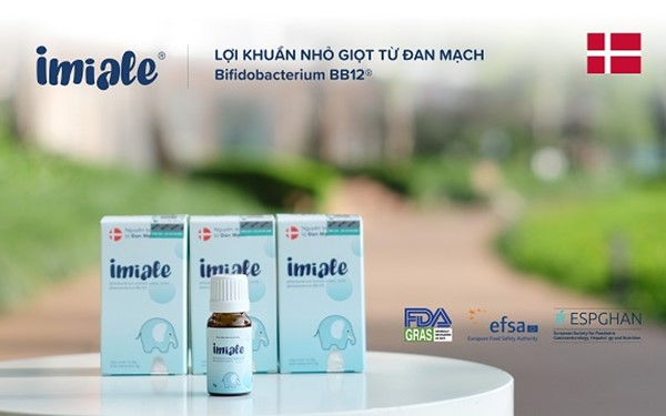 Lợi khuẩn sống Imiale (Bifidobacterium BB12)