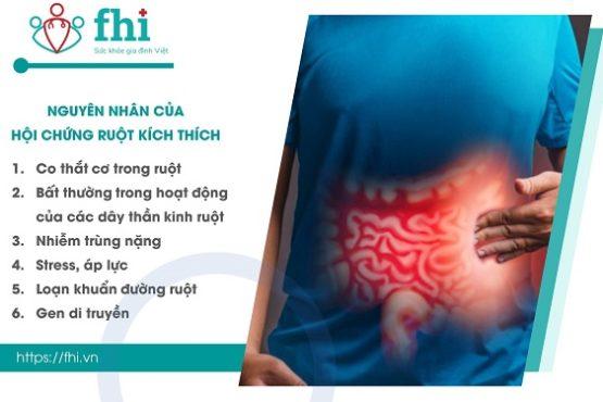 [Cẩm nang] Nguyên nhân & Xử trí hội chứng ruột kích thích