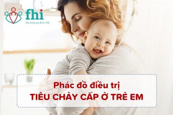 [Cập nhật mới nhất] Phác đồ điều trị tiêu chảy cấp ở trẻ em