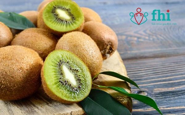 quả kiwi tốt cho táo bón