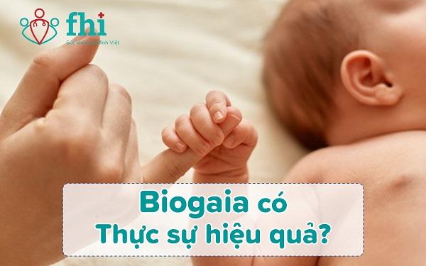 biogaia có hiệu quả
