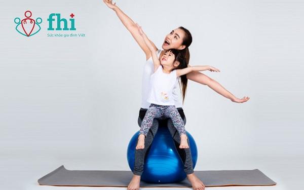 tập thể dục cho trẻ
