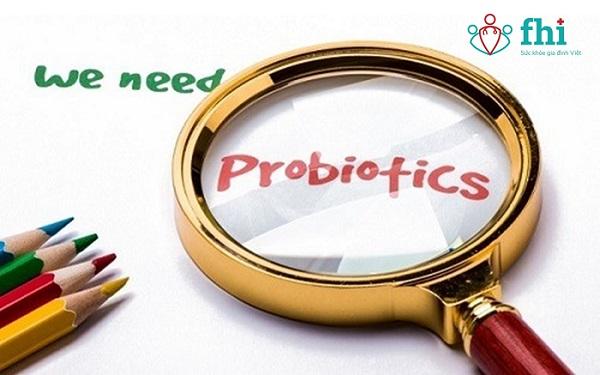 bổ sung probiotics