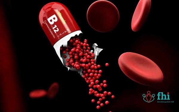 vitamin B12 ngừa thiếu máu
