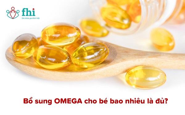 liều bổ sung omega cho bé