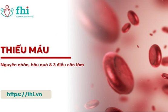 Thiếu máu: Nguyên nhân, hậu quả và giải pháp